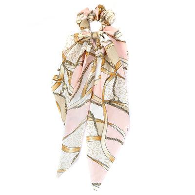 Scrunchie scarf baroque pink