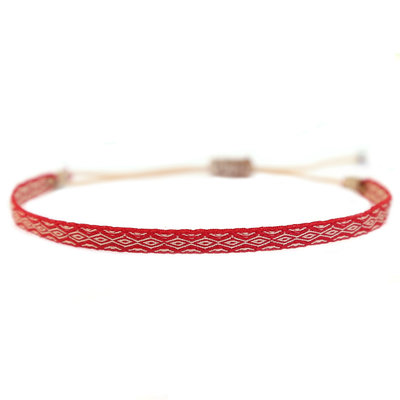Bracelet Aztec red