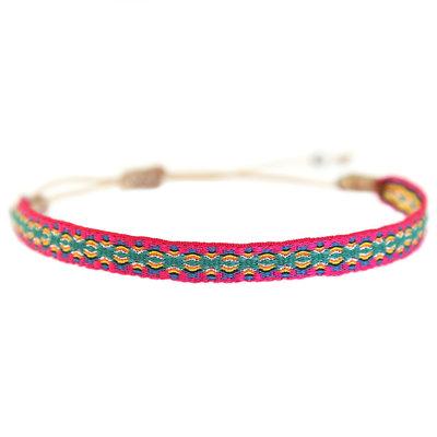 Bracelet Aztec pink
