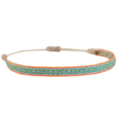 Bracelet Aztec orange