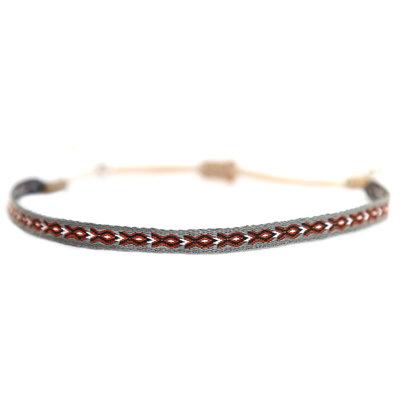Bracelet Aztec grey