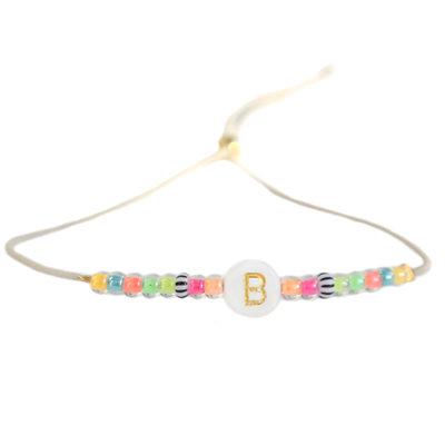 Initial bracelet Ibiza summer