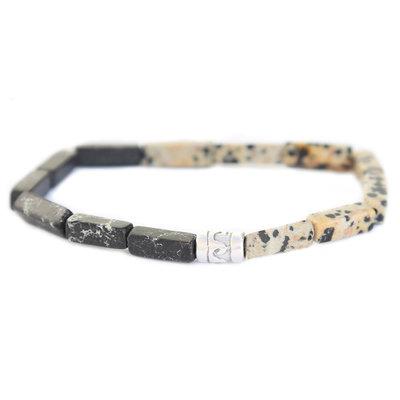 Beachlife bracelet black duo