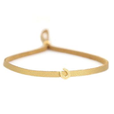 Bracelet for good luck - gold