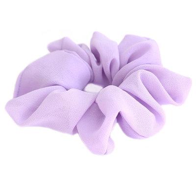 Scrunchie chiffon lilac