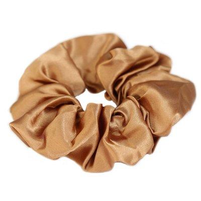 Satin scrunchie copper