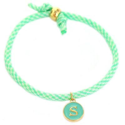 Initial bracelet mint