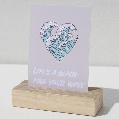 Card - Life's a beach