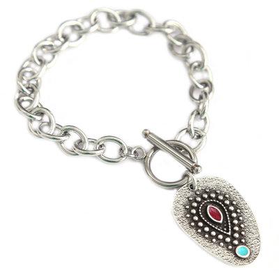 Bracelet amulet turquoise eye