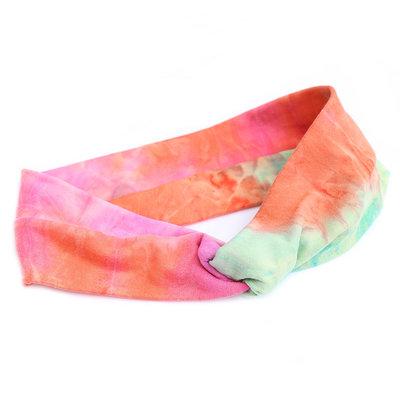 Hair band tie dye