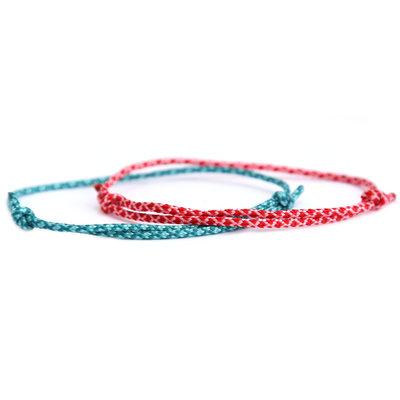Bracelet set surf culture red