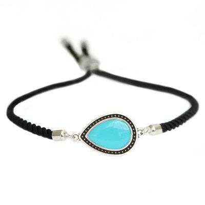 Bracelet Versailles turquoise silver