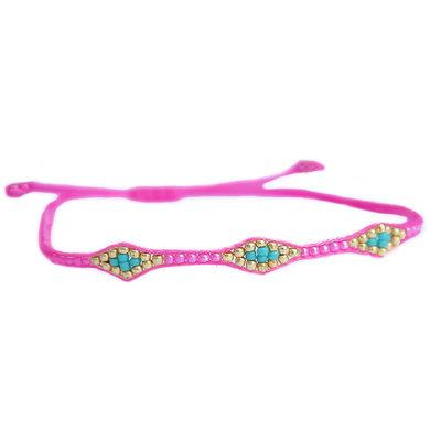 Bracelet miyuki Ibiza hot pink