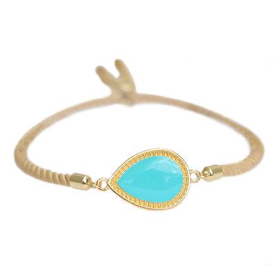 Bracelet Versailles turquoise gold