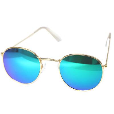 Sunglasses pilot blue green