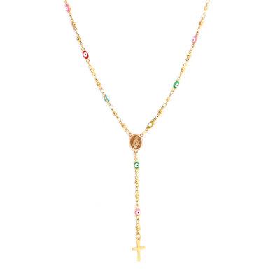 Necklace rosary faith