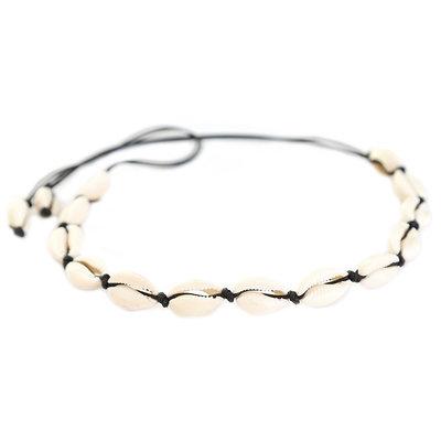 Necklace shell beach black