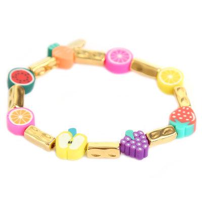 Bracelet tutti frutti gold