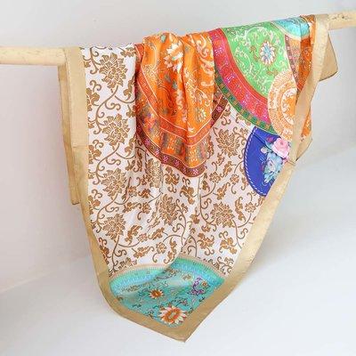Satin bandana scarf barok sun