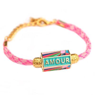 Bracelet amour pink