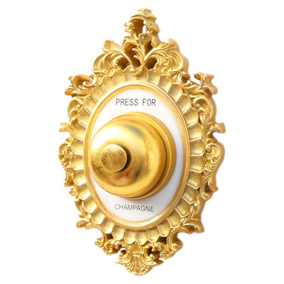 Press for champagne wall bell