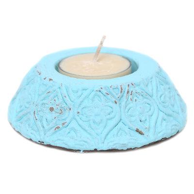 Tea light holder turquoise