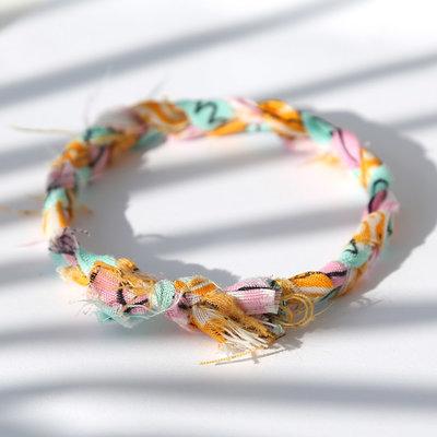 Bracelet bandana braid multi