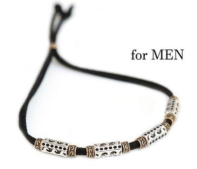 Bracelet waves for men black