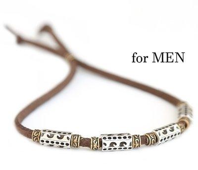 Bracelet waves for men brown