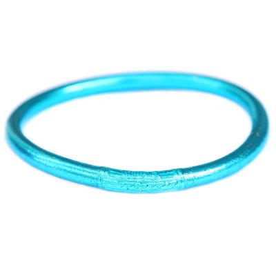 Bracelet buddhist good luck blue