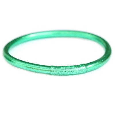 Bracelet buddhist good luck green