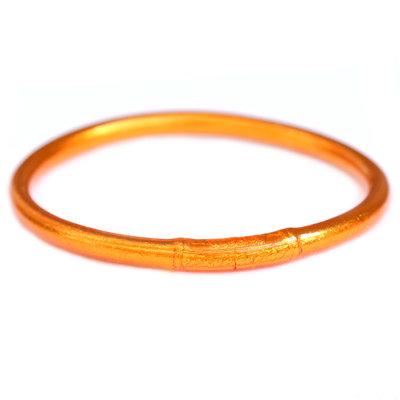 Bracelet buddhist good luck fire orange