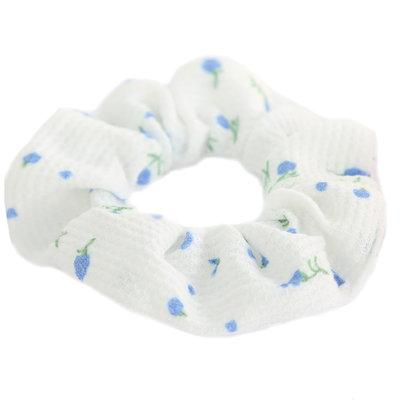 Scrunchie white lilly