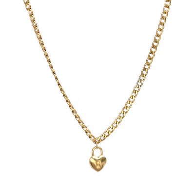 Necklace chain heart