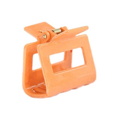 Hair claw bright orange