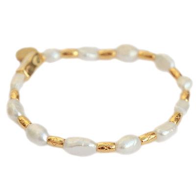 Bracelet queen of pearls
