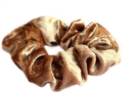 Velvet scrunchie blonde