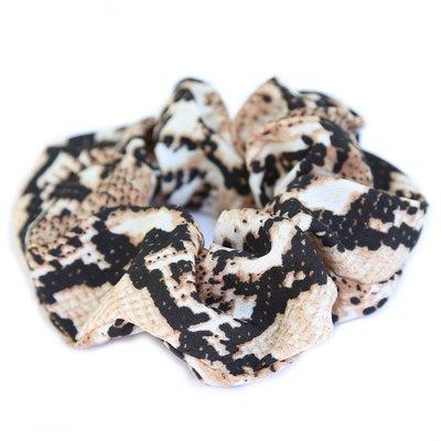 Satin scrunchie python