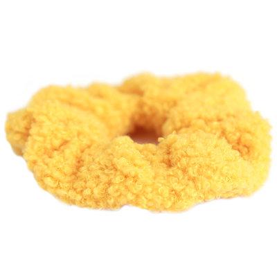 Scrunchie teddy ocher