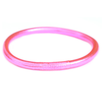 Bracelet buddhist good luck pink