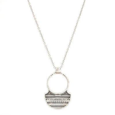 Necklace tribe silver