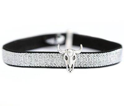 Anklet buffalo silver