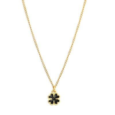 Necklace lucky clover
