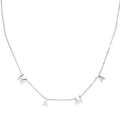 Necklace MAMA silver