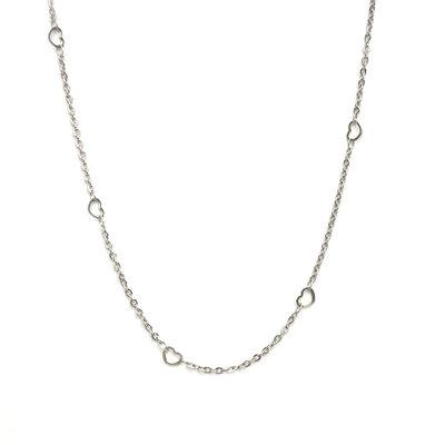 Necklace little heart silver