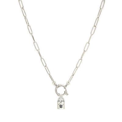 Necklace unlock silver