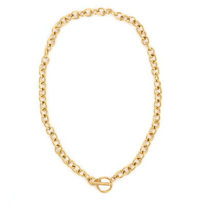 Necklace chain trend gold