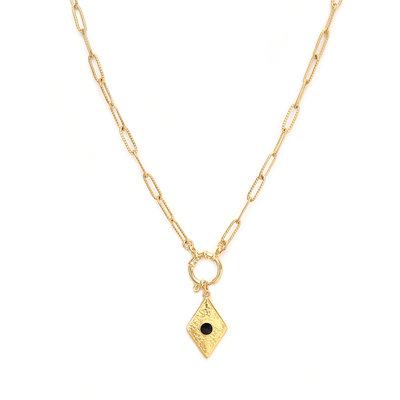 Necklace baroque gold