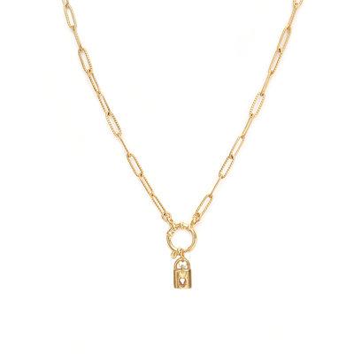 Necklace unlock gold
