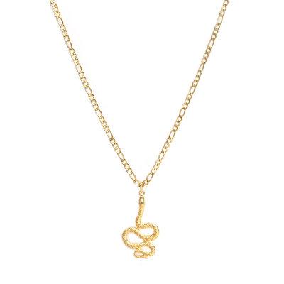 Necklace snake gold
